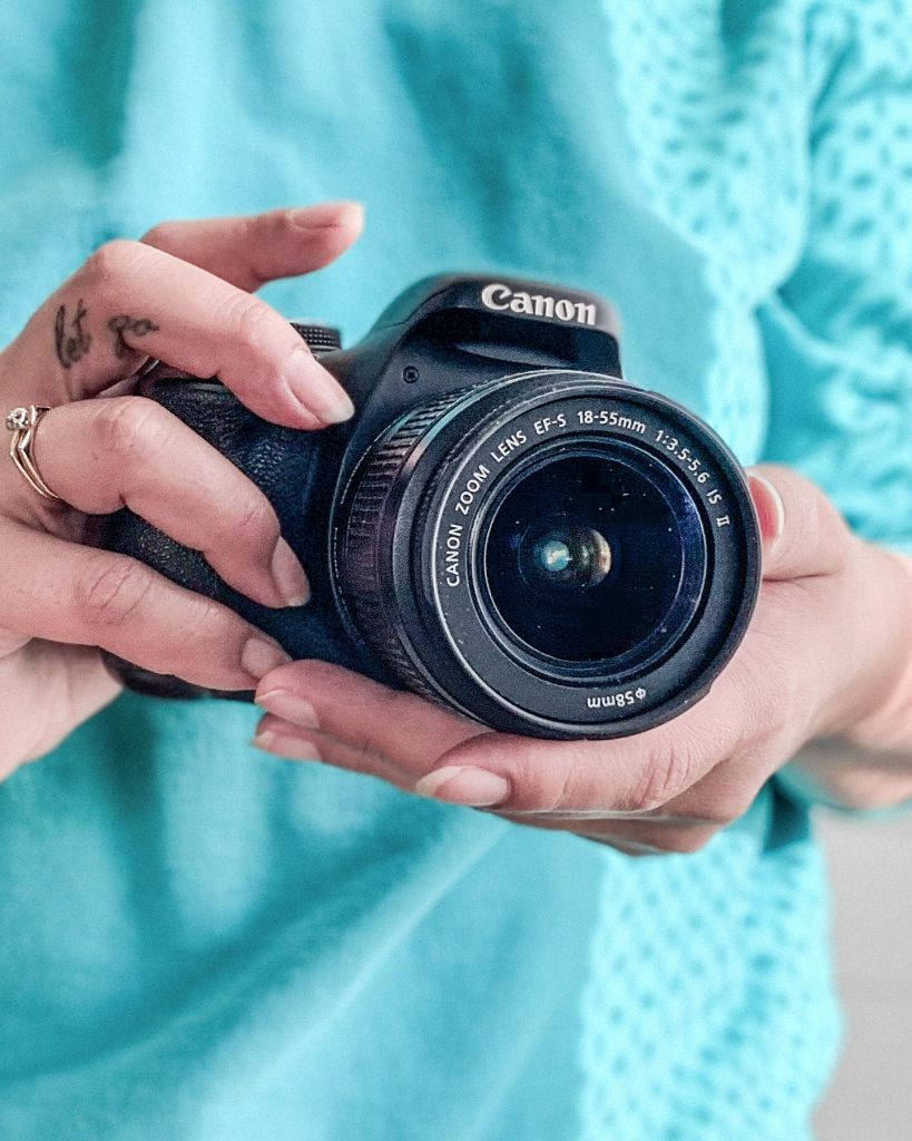CANON T3I filming youtube