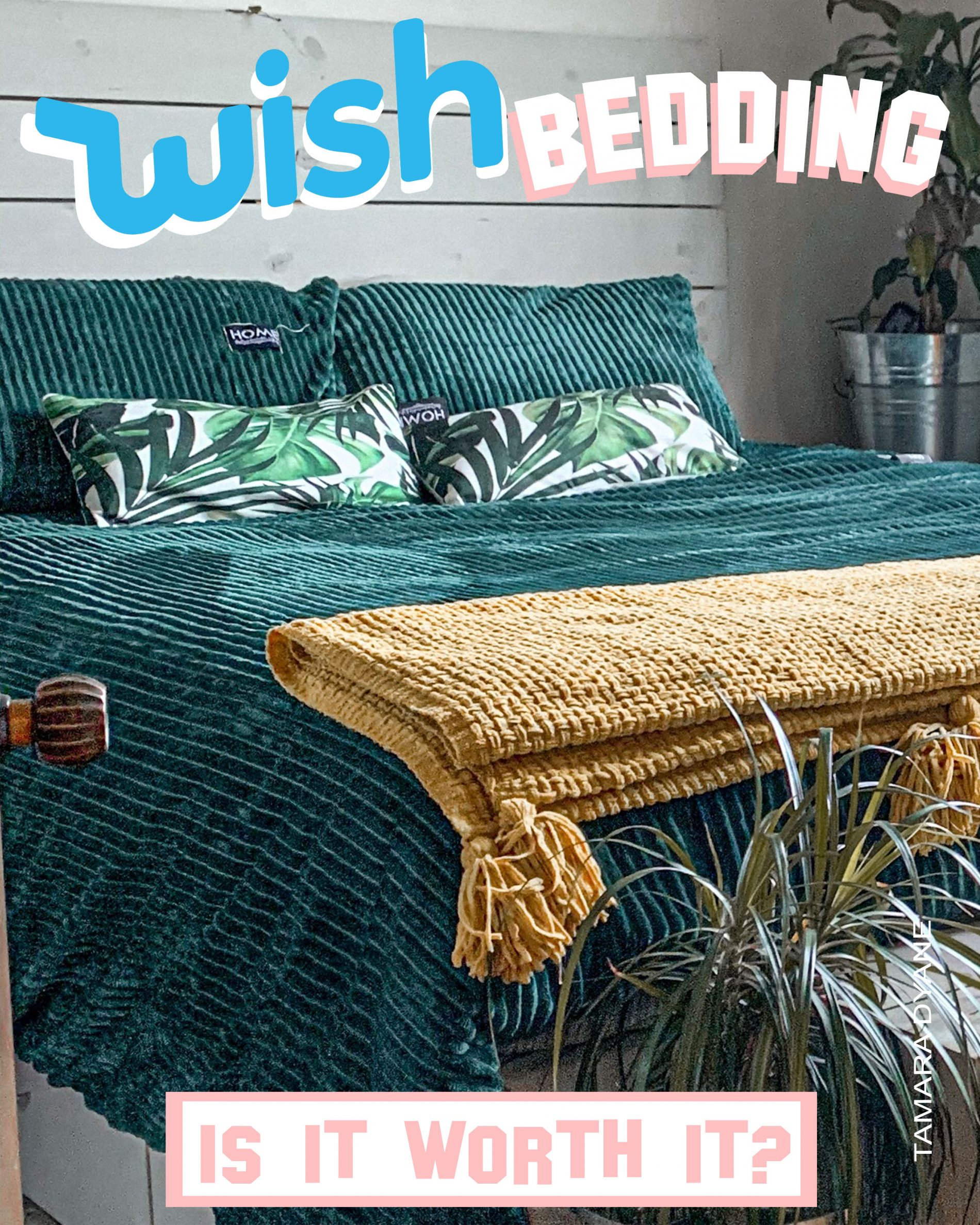 SHOULD YOU BUY BEDDING FROM WISH... is it worth it?